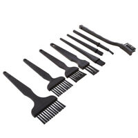 8Pieces ESD Safe Anti Static Brush Set Cleaning Tool for Phone PCB Repair