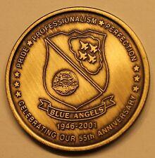 Blue Angels 55th Anniversary Navy Marine Challenge Coin