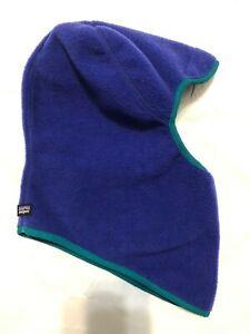 PATAGONIA Vintage Unisex Adult Purple Fleece Balaclava Ski/Snow Hood  – One Size