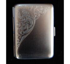 Hansaware Venice Pocket Cigarette Case Satin Finish Made in Germany 845/MN 86