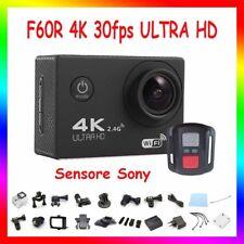 Pro Cam 4K SPORT WIFI ACTION CAMERA SONY 12MP VIDEOCAMERA SUBACQUEA GOPRO F60R