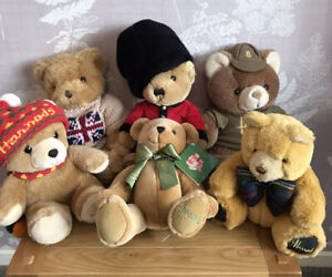 Harrods Teddy Bear Collection Bundle. Great Condition