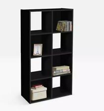 NEW Home Cabinet Storage Black Grey White 8 Cubes Shelving Furniture Room Unit
