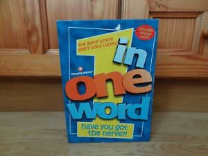 Winning Moves IN ONE WORD Game 1998