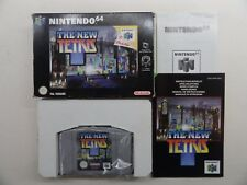 The New Tetris (n64) completo con manual y en su embalaje original *** PAL Versión ***