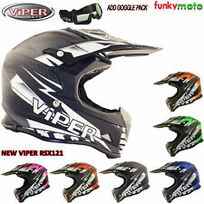 VIPER RXS121 MX CASCO ADVENTURE OFF ROAD KART QUADS TRIAL ENDURO CROSS MOTO