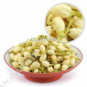 GOARTEA Organic Jasmine Flower Floral Dried Buds Herbal Natural Fragrance Tea