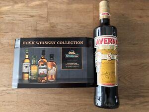 Irish Whiskey Collection Tasting Set Kilbeggan + 1 Flasche Averna