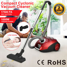 1000w Vacuum Cleaner Powerful Compact Cylinder 3l Bagged Cyclonic Hoover HEPA UK