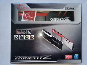 ✔✔ G.SKILL TridentZ 32GB (4 x 8GB) 3200MHz *CL14* PC4-25600 DDR4 *B-Die* GSKILL