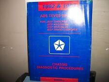 ABS TEVES  BRAKES FOR JEEP CHEROKEE,WRANGLER,WAGONEER,1992&1993 MANUAL