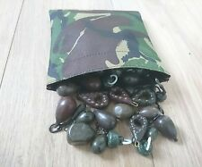 Bits bag / lead bag made from waterproof camouflage material adwcarpcamoproducts