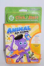Leap Frog Click Start - Animal Art Studio - Age 3-6 Years - Boy or Girl - NEW