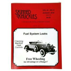 Skinned Knuckles Magazine Issue # 505 Aug 2018 Fuel System Leaks / Free Wheeling