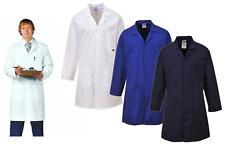 Portwest Butcher Catering Baker Hygiene Doctor Dentist Vet Lab Coat Jacket C852