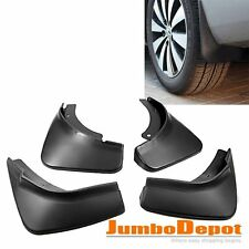 Black Rubber Car Mud Flaps Splash Guards Fit For VW Passat B6 3C Sedan 2006-2010