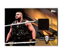 WWE Rezar 2017 Topps TNF Bronze Event Used NXT Mat Relic Card SN 40 of 99