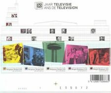 BELGIUM BL 106  ** MNH  2003  50 JAAR TELEVISIE  5 x 0,41€
