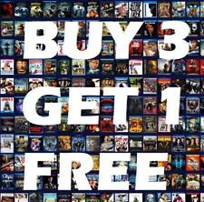 Blu-ray Buy3Get1 FREE LIKE NEW Lot Your Choice Flat Shipping Movies Added Daily