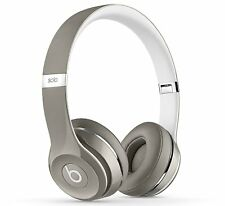 Beats by Dr. Dre Solo 2 Headband Headphones - Luxe Silver