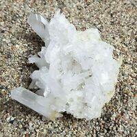 Faden Quartz - Spectacular Natural Tabular Crystal Cluster Specimen  288g  117mm