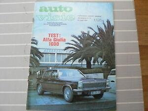 AUTOVISIE 1969-13,TEST ALFA GIULIA 1600,LOTZ,SIGMA GRAND PRIX,LANCIA,RALLYE