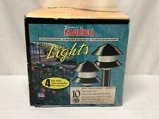 New 10 Malibu Tier Lights Set 4 Watt Model LX50610P Landscape Path Light Sensor