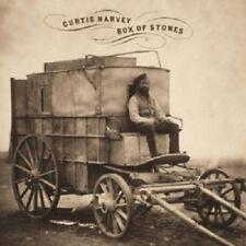 Curtis Harvey - Box Of Stones  CD 12 Tracks Alternative Rock  Neuware