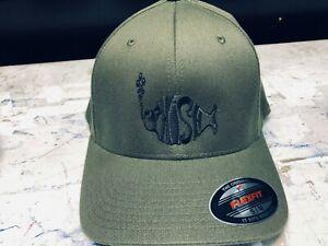 Phish Logo Embroidered Flexfit Ball Cap Black, Navy or Olive