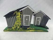 Shelia's Collectibles - Ap - Corn Cribs - Amish Series - #Ams07