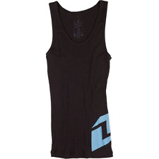 ONE INDUSTRIES WOMENS ICON TANK T-SHIRT top TEE BLACK BABY BLUE motocross