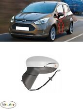 Frozen White Ford B-Max Passenger Left Wing Door Mirror Casing Cover