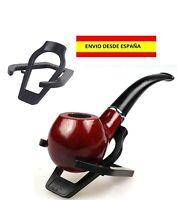 PORTA PIPA DE FUMAR CACHIMBO TABACO PRÁCTICO ÚTIL LIVIANO HOLDER RACK STAND