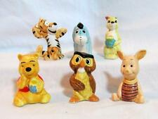 SEARS Set 6 Disney WINNIE the POOH Ceramic Figurines 1970 MIB Mint ULTRA-RARE!!