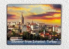 SOUVENIR FROM ISTANBUL , TURKEY FRIDGE MAGNET -hmdt5Z