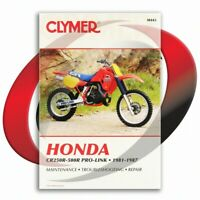 1984-1987 Honda CR500R Repair Manual Clymer M443 Service Shop Garage