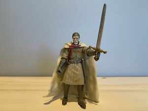 Hasbro Indiana Jones Last Crusade Grail Knight Action Figure w/ Cape & Sword Hot