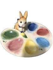 Fitz & Floyd Painting Eggs Egg Display Tray Never Used
