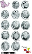 13oz Never Forget Proof Series Complete Set Silver Shield 911 WTC7 NORAD Vietnam