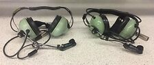 David Clark H3340 12517G-02 Headset With Amplified Dynamic Microphone