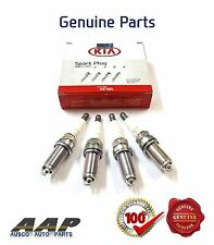 GENUINE KIA CERATO 2.0L LD,TD (2004~2013) SPARK PLUGS X4 WITH TAX INVOICE