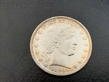1892 Liberty Head, Barber Half Dollar Au Bu