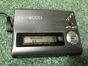 KENWOOD DMC-F5R Portable Player MD Recorder Minidisc Play confirmed
