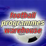FOOTBALL PROGRAMMES WAREHOUSE