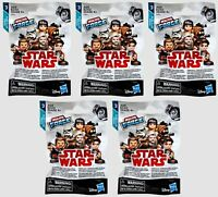 Lot of 5 Hasbro Micro Force Star Wars Mystery Figure Blind Bags Series 3 (2/bag)