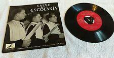 """SALVE DE LA ESCOLANIA  GERMINANS 7"""" VINYL 7ERL 1.034"""