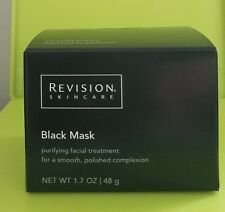 Revision Skin Black Mask Purifying Facial Treatment - 1.7 oz / 48 g New in Box