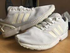 Adidas zx flux torsion Blanc Running Baskets Taille UK 11 EU Taille 46