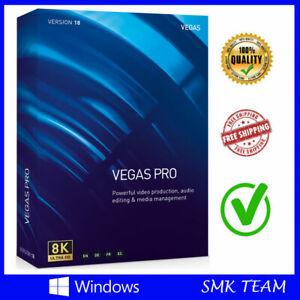 Magix Sony VEGAS Pro 18 ✅ Full version ✅ 64 Bit Windows ✅ Video Editing Lifetime