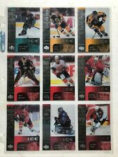 2001-02 UPPER DECK ICE NHL HOCKEY CARD BASE SET 1-42
